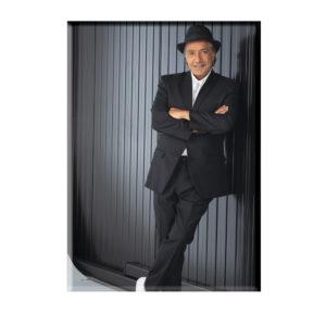 2020 Magnet costume noir et chapeau
