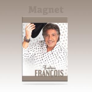2021 Magnet chemise pois noirs avec le chapeau